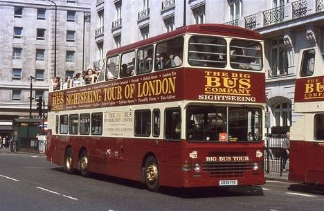 экскурси по лондону на автобусе