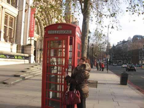 телефонная связь, англия