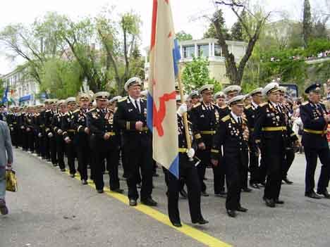 парад победы 2010 Севастополь