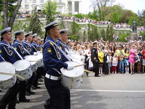 Парад Победы Севастополь 9 мая 2010 года