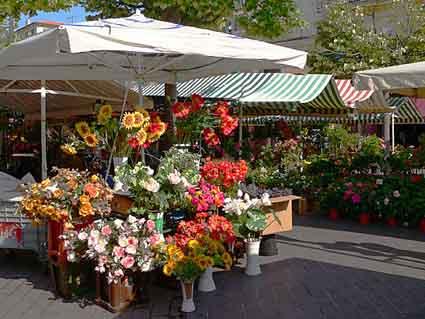 Цветочный рынок Ницца