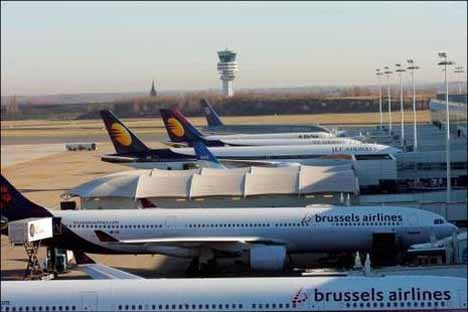 аэропорты бельгии