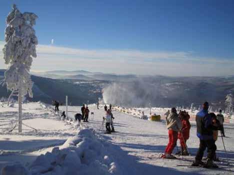горнолыжные курорты чехии