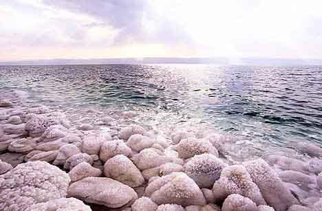метвое море