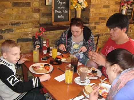 что едят на завтрак англичане