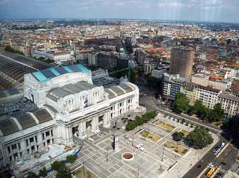 вокзал Милан
