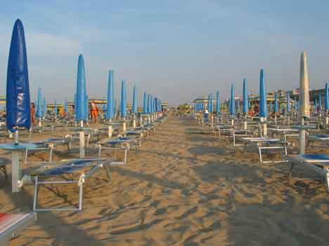 римини пляж