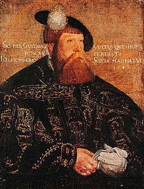Король Густав Васе