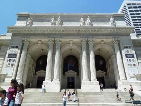 Публичная библиотека Нью-Йорк