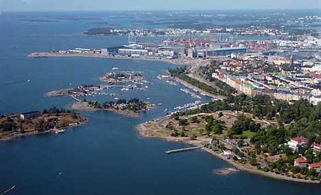 Хельсинки финский залив