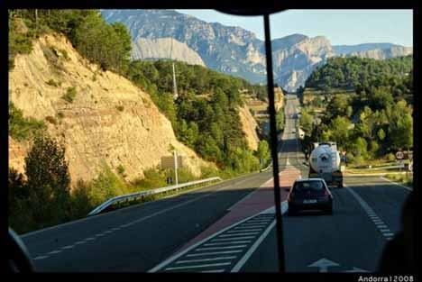 дороги Андорры