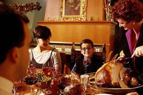 День благодарения в кругу семьи