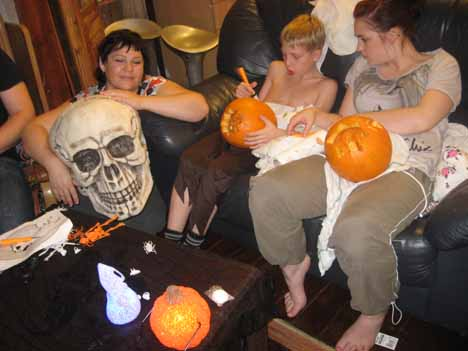 Хэллоуин в Англии. Подготовка в самом разгаре