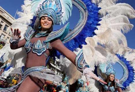 испания карнавал