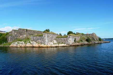 крепость Суоменлинна Свеаборг