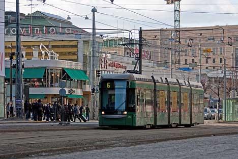 трамвай Хельсинки