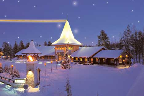 дом финского деда мороза