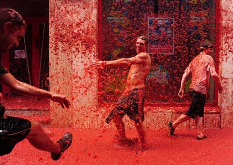 фестиваль томатов