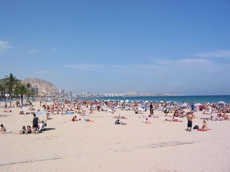 аликанте пляж