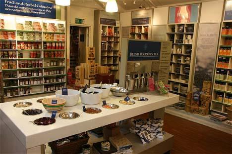 коллекция чая от Whittard Chelsea
