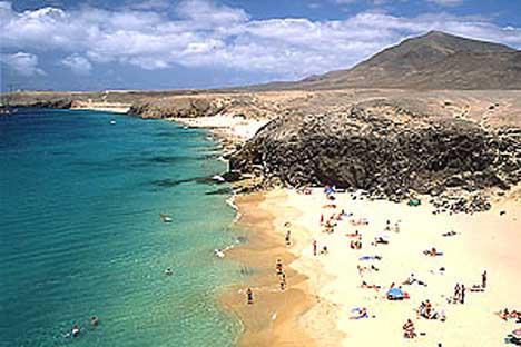 лансароте пляжи