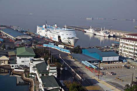 порт Манилы