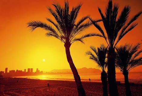 пляж бенидорм