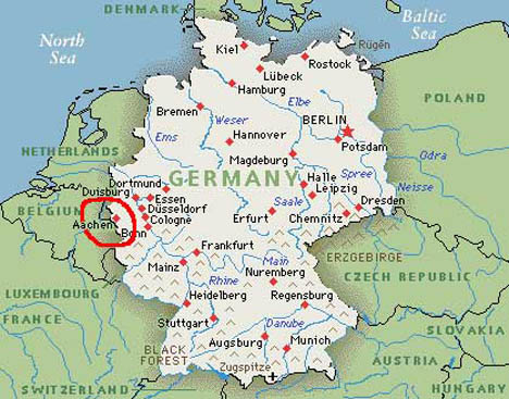 аахен. германия. фото