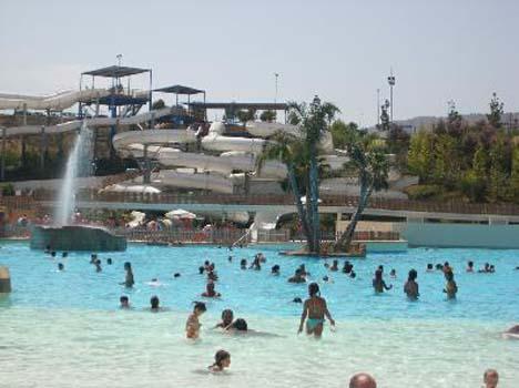 аквапарк бенидорм