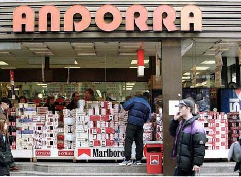 Андорра шоппинг