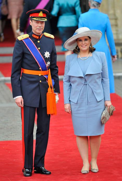 принц Анри с супругой
