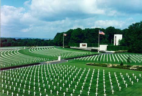 мемориал 3-й амерканской армии люксембург