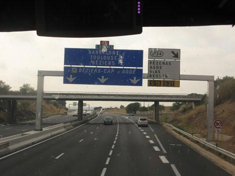дороги европы