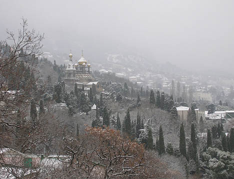 зимний отдых в Алупке