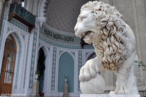 алупка львы