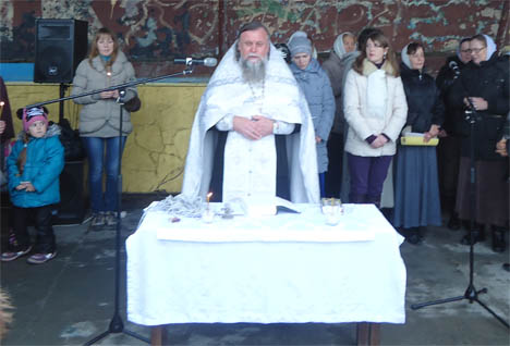 крещение алупка крым 2013
