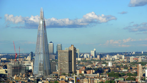 небоскреб осколок лондон