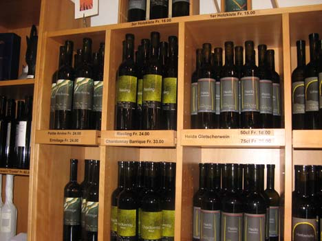 швейцарское вино