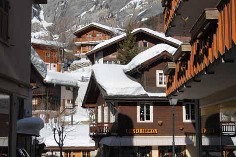 швейцария горнолыжные курорты