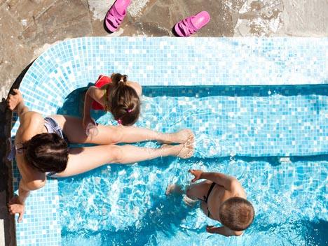 апартаменты с бассейном форос