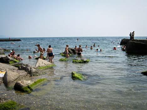 крымские пляжи