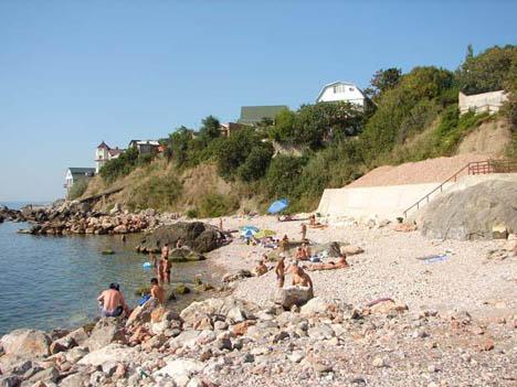 форос пляжи