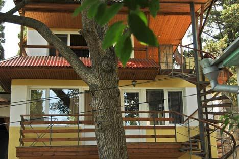 кипарисовый рай алупка домик под кедром