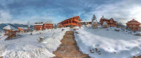 отдых зимой на украине