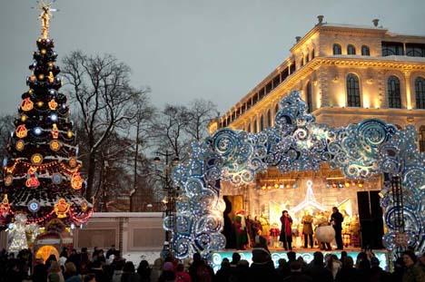 рождественская ярмарка в россии