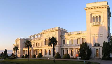 Царский дворец в Ливадии