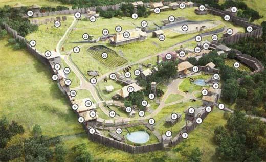парк викингов в крыму схема