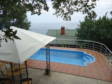 алупка с бассейном частный сектор отели