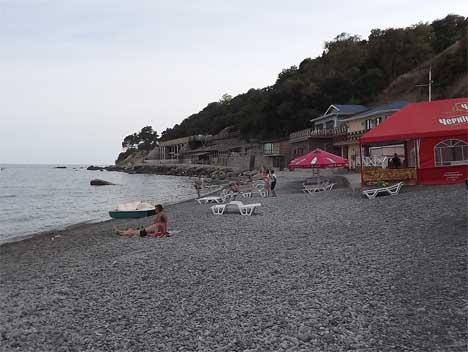 Алупка пляжи