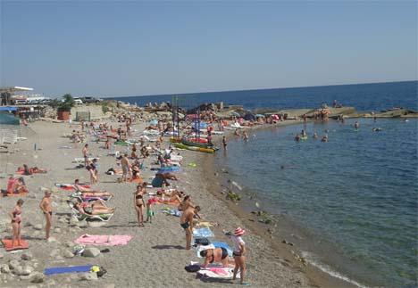 крым пляжи в сентябре